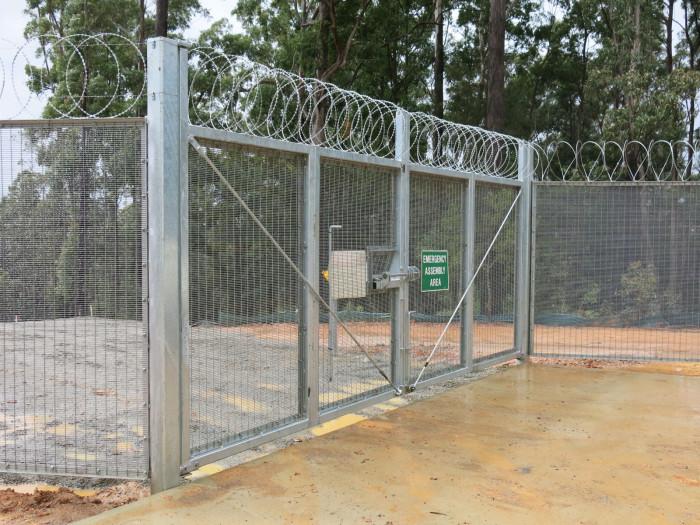 Perimeter Fence and Gates – Sancrox Reservoir Port Macquarie Hastings Council