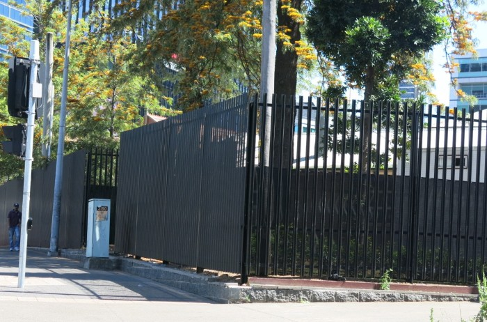 Fence upgrade at Lancer Barracks, Parramatta, NSW