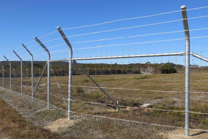 Jervis Bay Airfield Wildlife Fence, Shoalhaven, NSW – Jervis Bay Airfield