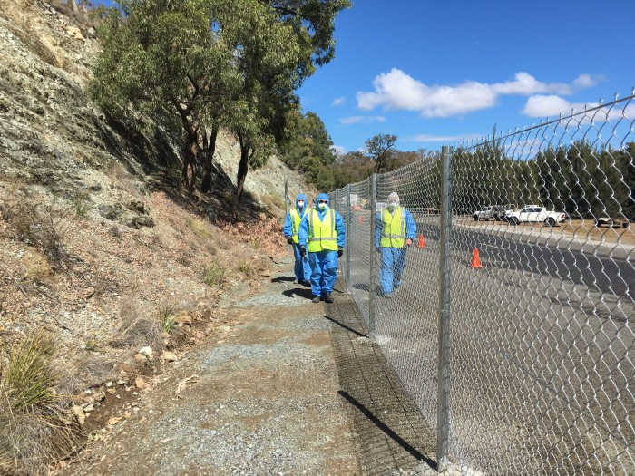 Perimeter Security Fencing to Woodsreef Asbestos Mine, Barraba